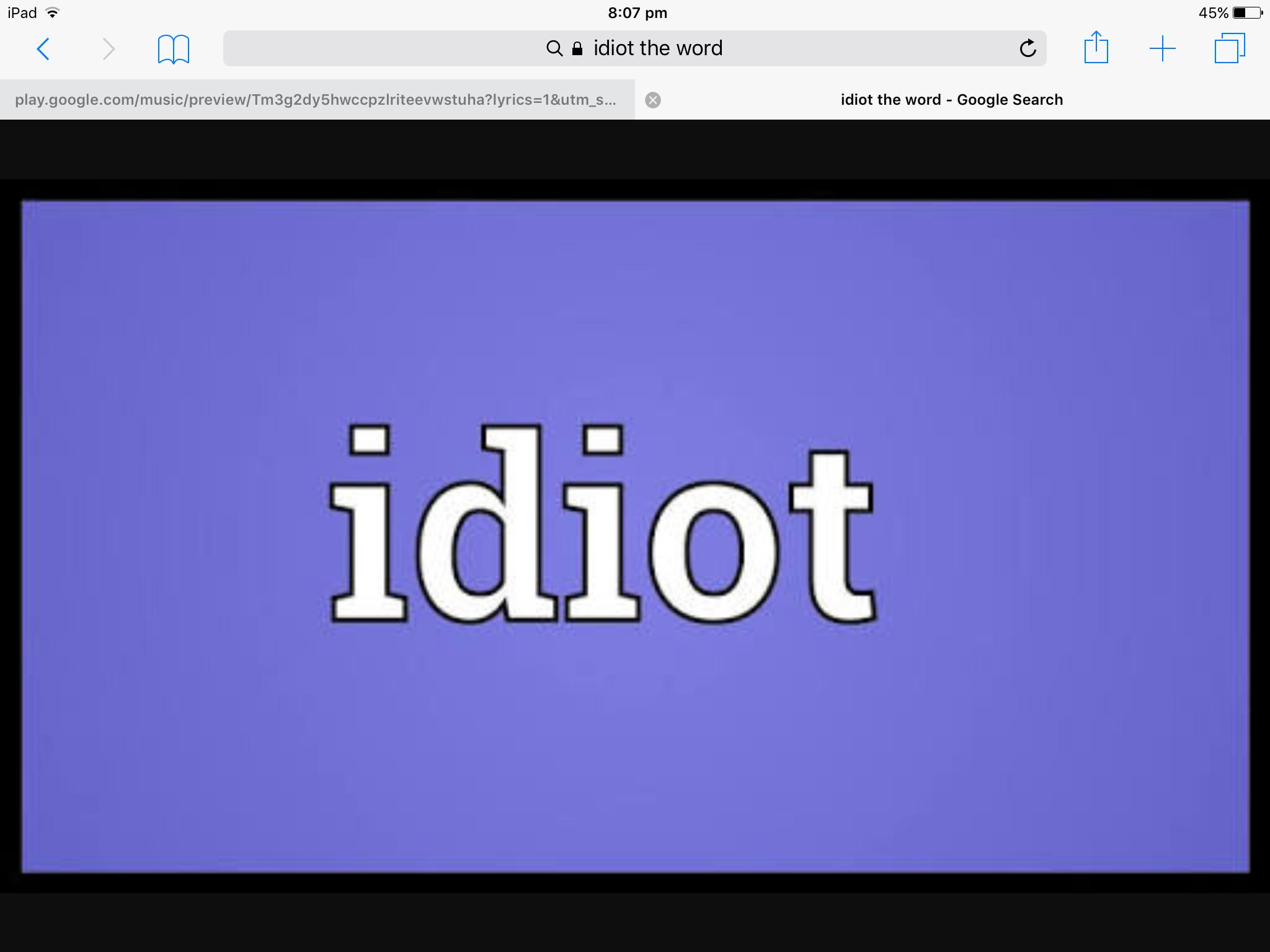 idiot - photo #4