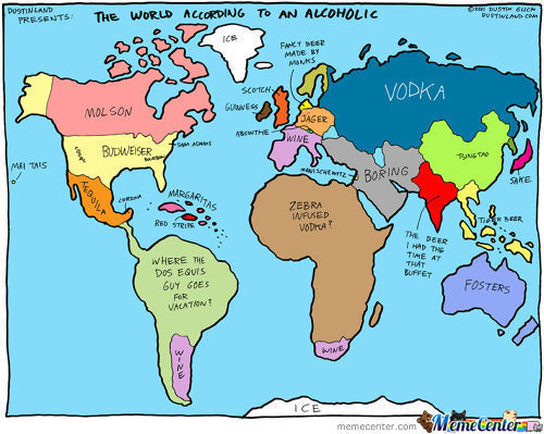 These world maps are very accurate steemit sciox Choice Image